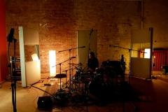 Aufnahmesession Nr1 Drums