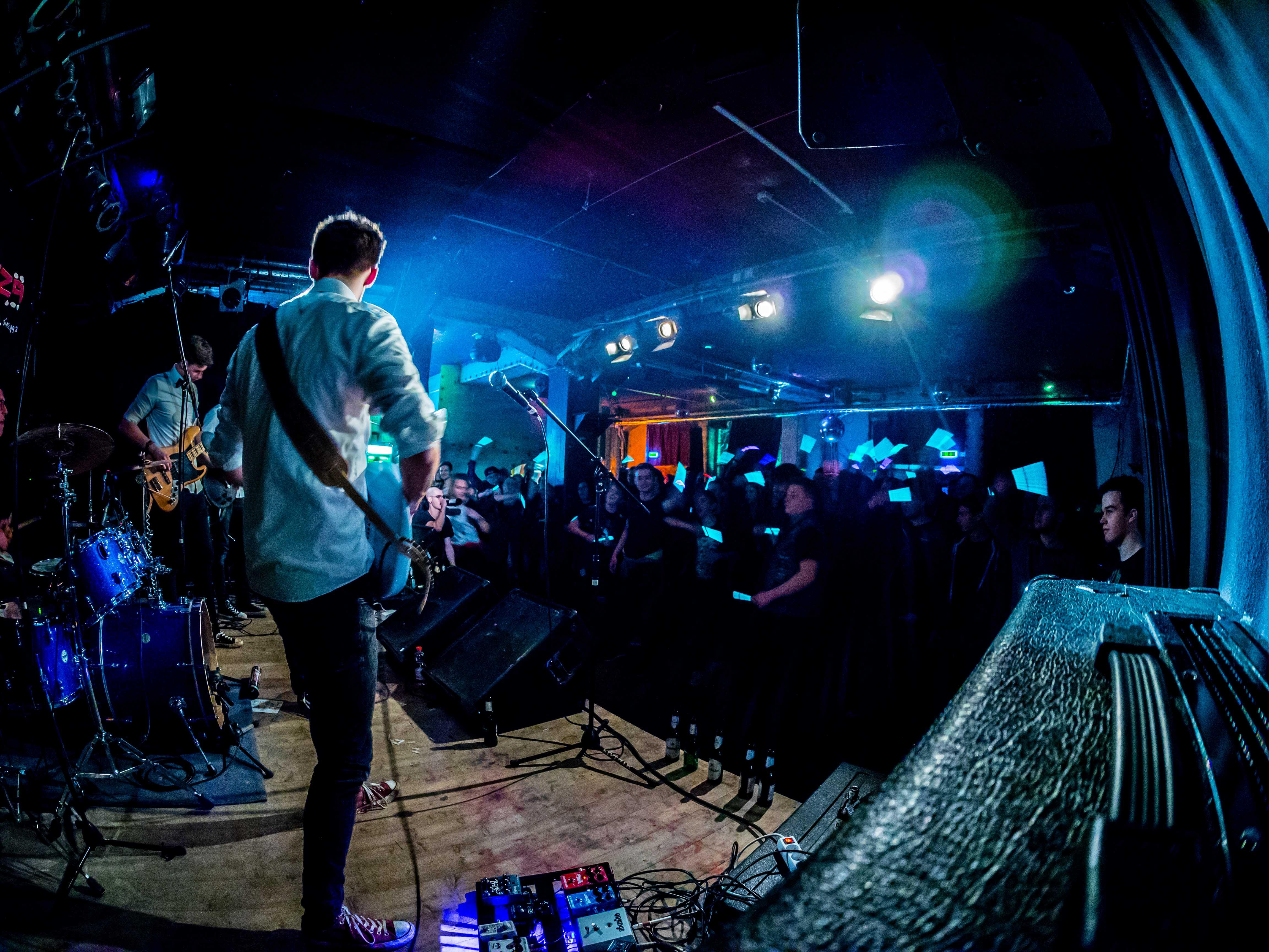 Emerganza Bandfestival Vorrunde Live Sputnikhalle Münster - Marry a Beer